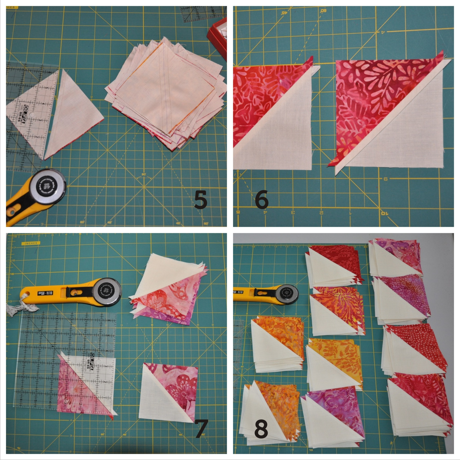 Hst Half Square Triangle Quilt Tutorial Skalabara Quilts