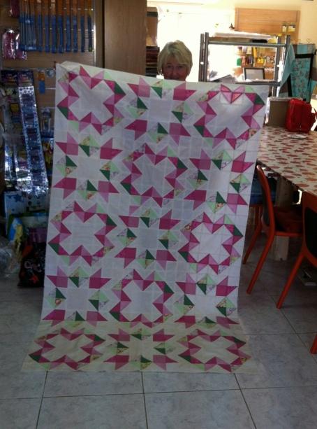star gaze quilt by trisha