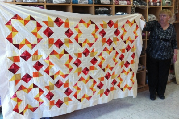 star gaze quilt by mary