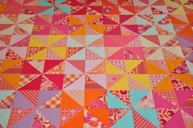 lollipop II quilttop