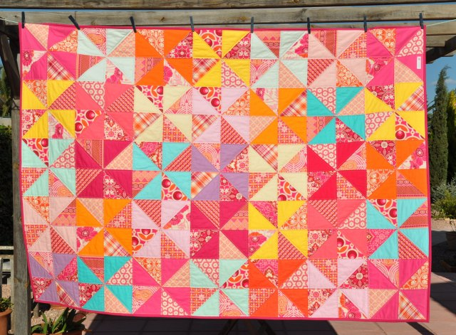 lollipop III quilt