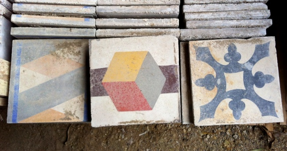 tiles x 3
