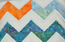 zig zag from rests of swoon block