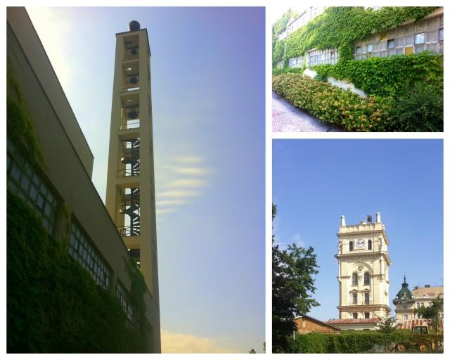 water tower and husuv sbor