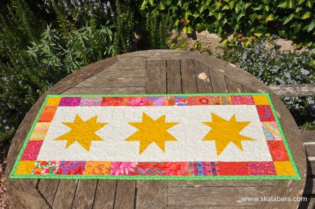 golden wonky stars - skalabara.com