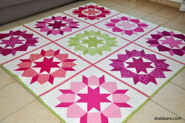 Mary's woon quilt - skalabara.com