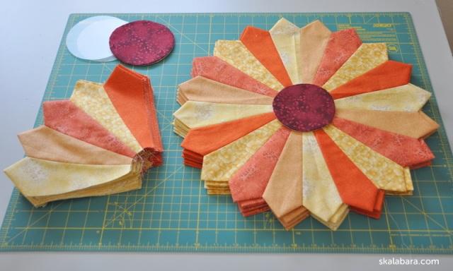 dresden plate quilt 6 - skalabara.com