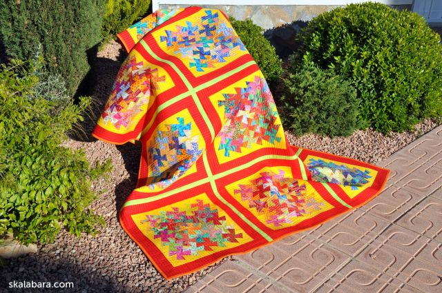 indian summer twister quilt chair- skalabara.com