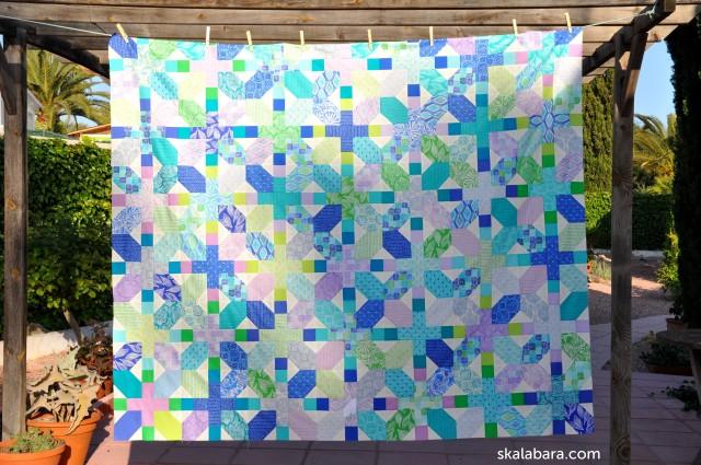 horizon quilt top 2 - skalabara.com