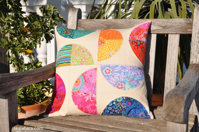 pillow cover half circles - skalabara.com