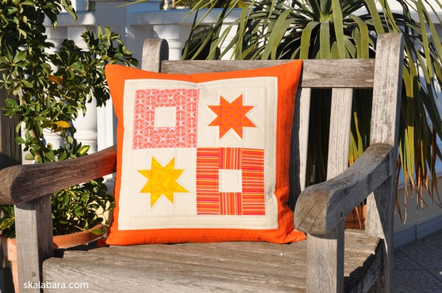 pillow cover wonky stars - skalabara.com