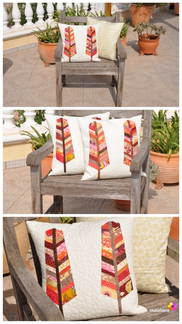feather pillows collage - skalabara