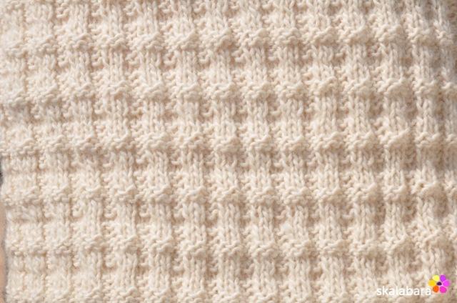 knitted pillow 2 - skalabara
