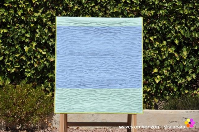 waves on horizon back - skalabara