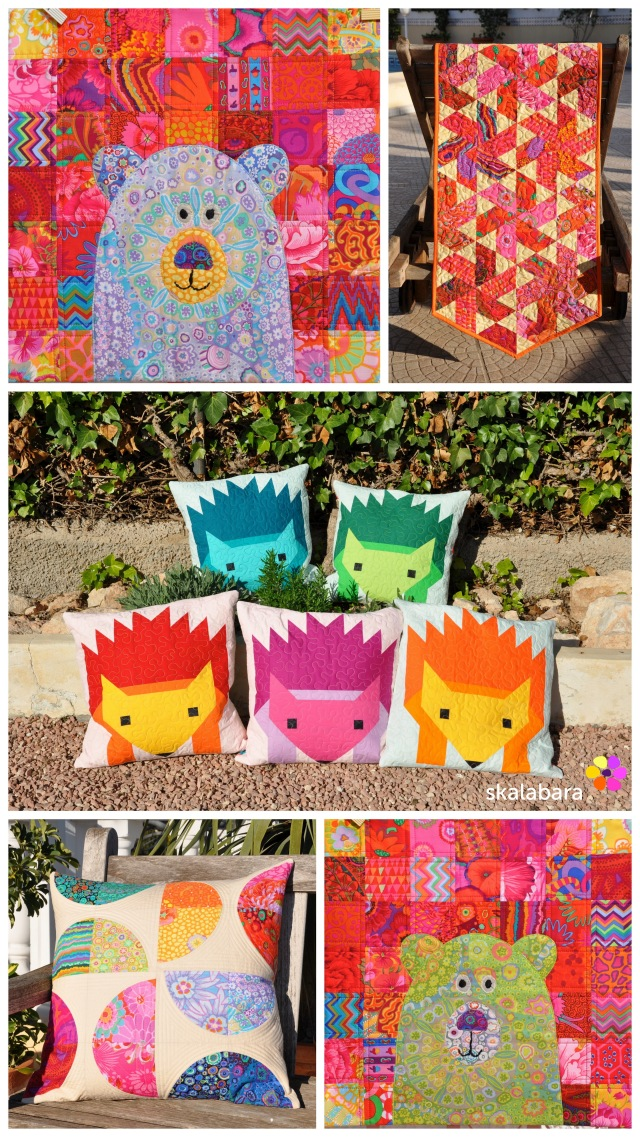 2015 quilts and pillows - colorful by skalabara