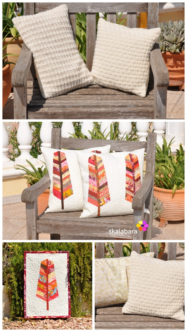 2015 quilts and pillows - neutrals by skalabara