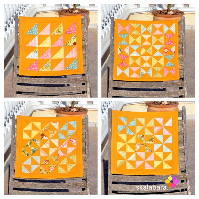 2015 quilts and pillows - orange by skalabara