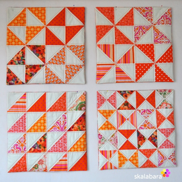 cushion covers in orange 1 - skalabara