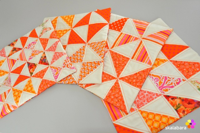 cushion covers in orange 3 - skalabara