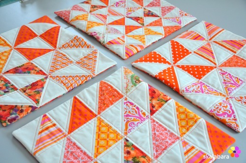 cushion covers in orange 4 - skalabara