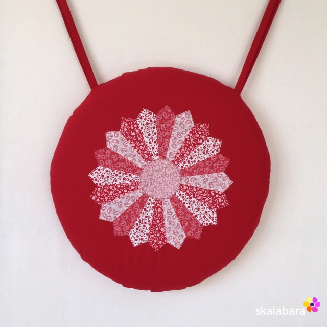 dresden plate cushion cover - skalabara