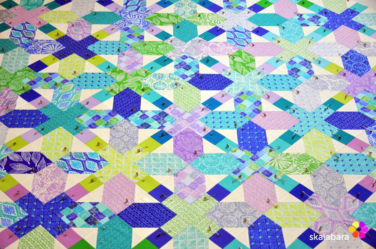 horizon quilt top 2 - skalabara