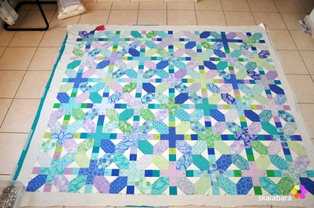 horizon quilt top 3 - skalabara