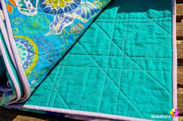 horizon quilt backing - skalabara
