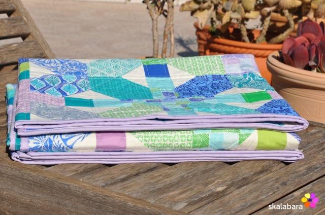 horizon quilt binding - skalabara