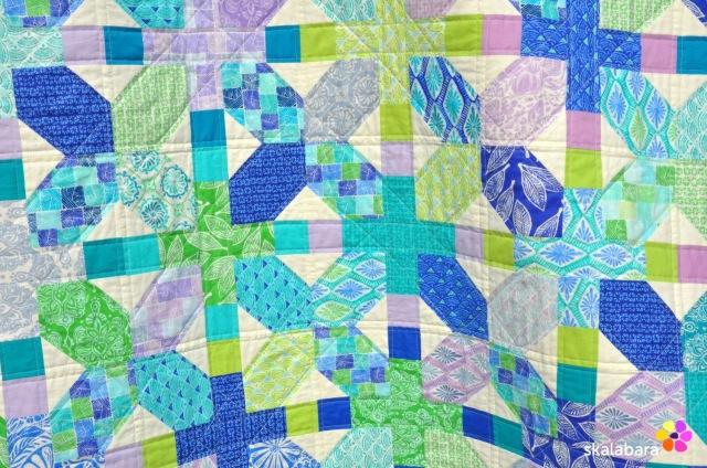 horizon quilt detail 2 - skalabara