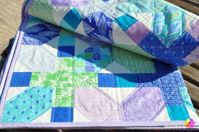 horizon quilt detail 4 - skalabara
