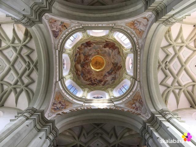 santini - kladruby church detail