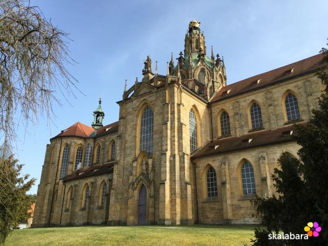 santini - kladruby church