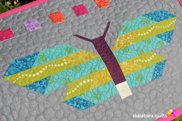 fancy forest frances firefly pebble quilting 2 - skalabaraquilts