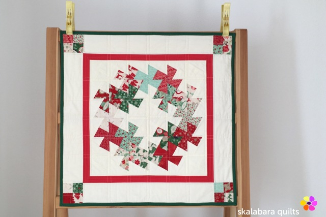 christmas wreath twister tool - skalabara quilts