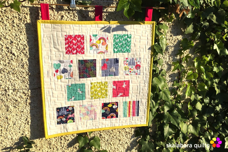 fantasy mini quilt - skalabara quilts