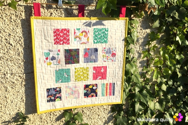 fantasy mini quilt - skalabara quilts