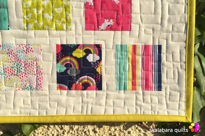 fantasy quilting detail 1 - skalabara quilts