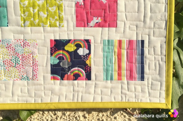 fantasy quilting detail 1 - skalabara quilts