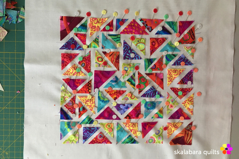 raw edge - skalabara quilts