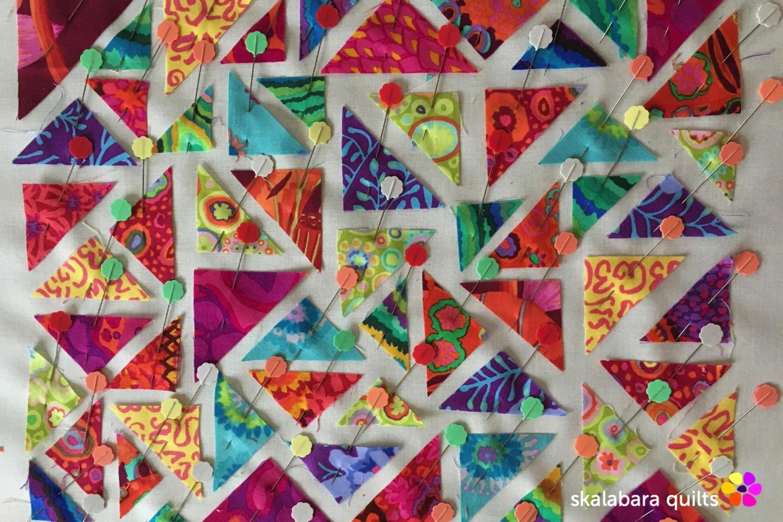 raw edge detail - skalabara quilts