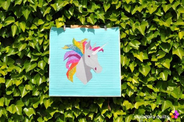 rainbow unicorn 2 - skalabara quilts