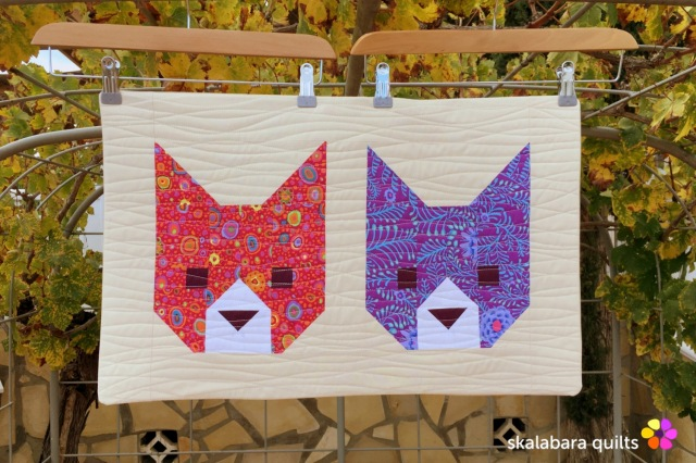 cushion cover kittens 11 - skalabara quilts
