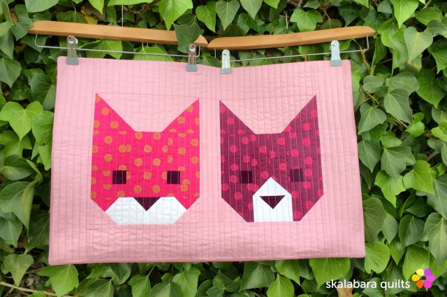 cushion covers kittens 2 - skalabara quilts