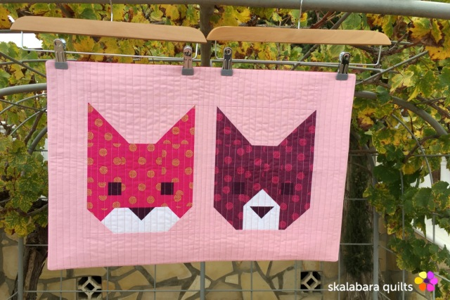 cushion cover kittens 4 - skalabara quilts