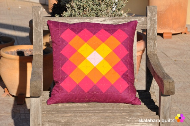cushion cover granny squares 1 - skalabara quilts