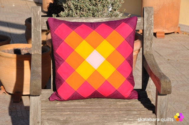 cushion cover granny squares 3 - skalabara quilts