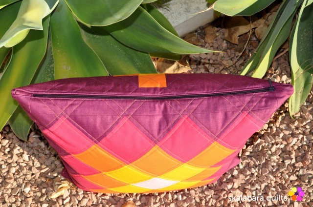 cushion cover granny squares 9 zipper - skalabara quilts