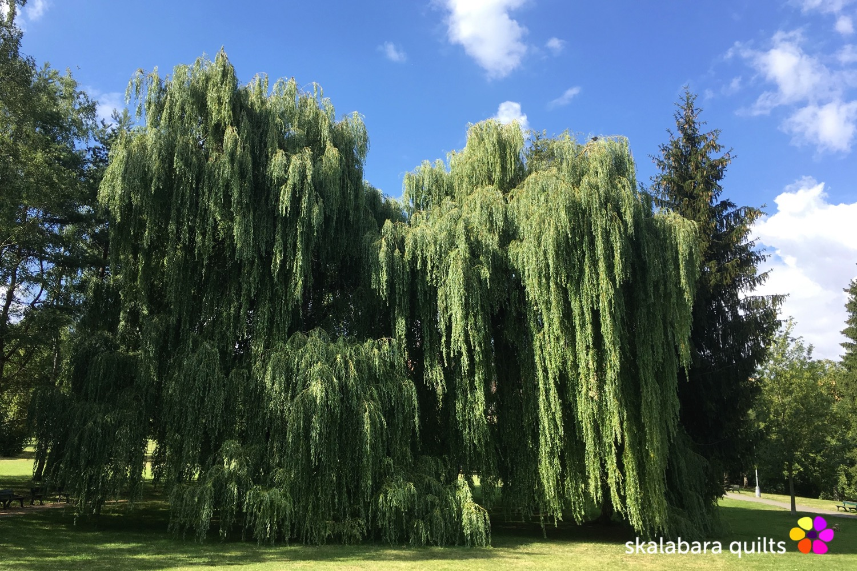 prague 6 park at Brevnov monastery - skalabara quilts