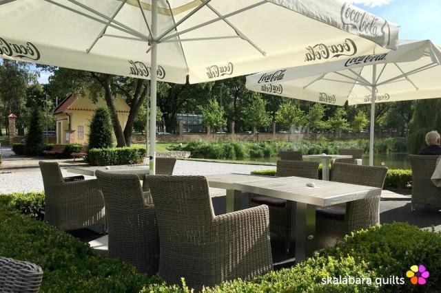 prague 6 garden Kajetanka - skalabara quilts